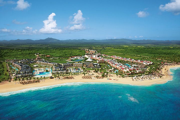 Now Onyx Punta Cana Aerial View